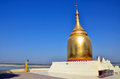 Bupaya pagoda in bagan myanmar Royalty Free Stock Photography