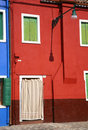 Burano facade Royalty Free Stock Images