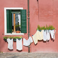 Burano island Royalty Free Stock Photo