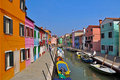 Burano Island Stock Photography