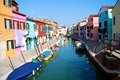 Burano Island Royalty Free Stock Photos