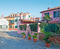 Burano street Royalty Free Stock Photography