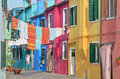 Burano, Venice Royalty Free Stock Photo