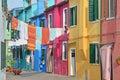 Burano, Venice Royalty Free Stock Photo