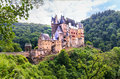 Burg eltz view of the castle Stock Photos