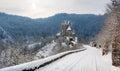 Burg Eltz at winter