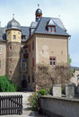 Burg Namedy a moated castle, Andernach, Germany Royalty Free Stock Photo