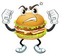 A burger Royalty Free Stock Images