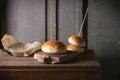 Burger buns Royalty Free Stock Photo