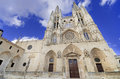 Burgos cathedral famous spanish landmark Stock Photography