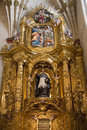 Burgos Cathedral Interior - Northern Spain Stock Photo