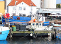 Burgstaaken harbor Royalty Free Stock Photo