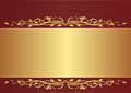 Burgundy and gold background Royalty Free Stock Photo