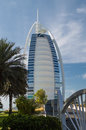 Burj al arab in dubai hotel united emirates Stock Photos