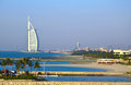 Burj al arab dubai uae luxury hotel in united emirates Stock Photos