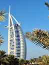 Burj al arab hotel dubai united emirates december view of from the jumeirah beach is one of the dubai landmark Royalty Free Stock Image