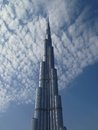 Burj khalifa dubai uae january in dubai united arab emirates Royalty Free Stock Photos