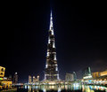 Burj khalifa the highest building in world downtown on october in dubai uae Stock Photography
