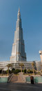 Burj Khalifa - the world's tallest tower in Dubai Stock Images