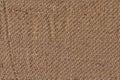 Burlap canvas crumpled grunge texture sample photograph of coarse grain Stock Photography