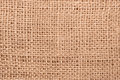 Burlap close up Stock Photo