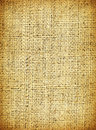Burlap closeup image of a Royalty Free Stock Image