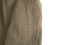Burlap Edge or Old Linen Canvas on White Background Royalty Free Stock Photo