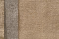 Burlap Fabric Sack Cloth Edge Background, Sackcloth Border Royalty Free Stock Photo