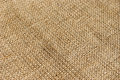 Burlap hessian texture background fabric close up Royalty Free Stock Photo