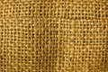 Burlap Macro Royalty Free Stock Photography