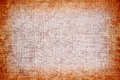 Burlap material high detailed texture of a Royalty Free Stock Image