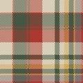 Burlap tartan fabric texture check seamless pattern