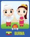 Burma AEC doll
