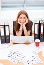 Burn-out syndrome Royalty Free Stock Photo