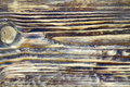 Burned Wooden Board Surface Background After Heat And Flame Trea Royalty Free Stock Photo