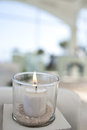 Burning candle Royalty Free Stock Photo