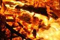 Burning fire Royalty Free Stock Photo