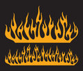 Burning fire flame fire flame Royalty Free Stock Images
