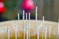 Burning Incense Royalty Free Stock Photo