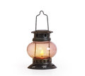 Burning kerosene lamp concept lighting Stock Photo