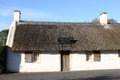 Burns Cottage Alloway Ayrshire Scotland. Royalty Free Stock Images