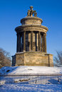 Burns Monument, Calton, Edinburgh Royalty Free Stock Photography