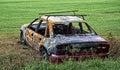 Spálený auto