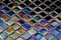 Burnt glass mosaic Royalty Free Stock Photo