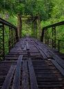 Quemado molino puente gran sur tenedor