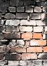 Burnt wall Royalty Free Stock Photo
