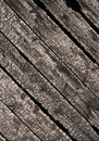 Burnt wood planks Stock Photo