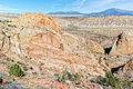 Burr trail switchbacks the on the waterpocket fold grand staircase escalante national monument Stock Photos