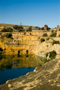 Burra Mine (Portrait) Royalty Free Stock Photo