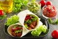 Burrito Royalty Free Stock Photo